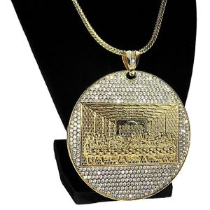 "Last Supper Franco Medallion 36"" Chain"