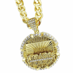 "Last Supper Gold 30"" Cuban Chain"