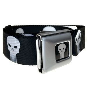 The Punisher Skull Belt Buckle-Down