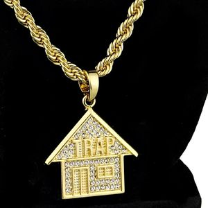 "Trap House Gold Rope Chain 24""x5mm"