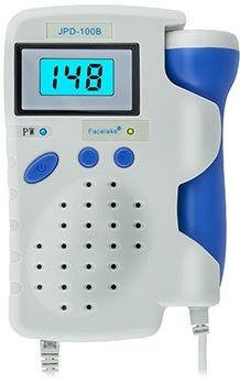 Angelsounds JPD-100B / FL-100B Fetal Doppler with 3Mhz Probe