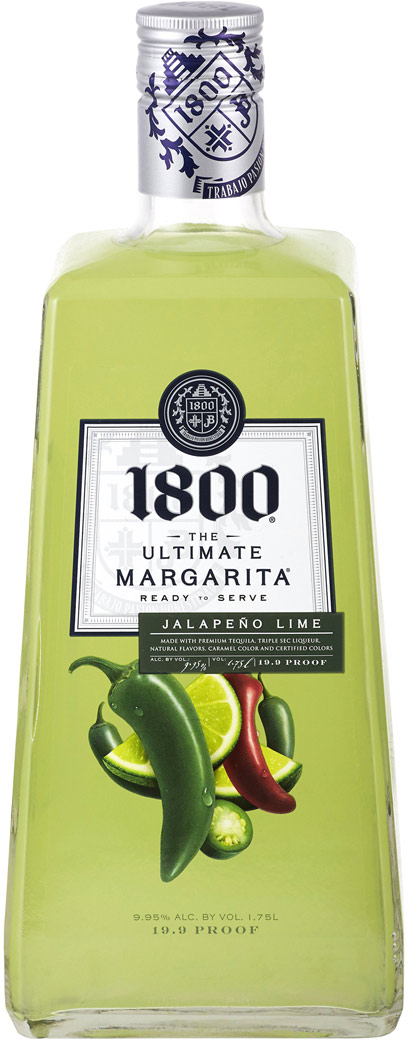 1800 Ultimate Jalapeno Lime Margarita 1.75L