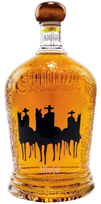 3 Amigos Anejo Tequila 1.75L (case of 6)