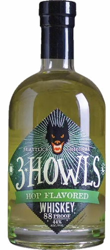 3 Howls Hopped Whiskey 750ML (case of 6)
