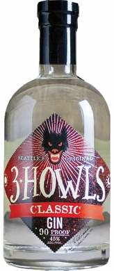 3 Howls Old Fashioned Gin 750ML (case of 6)