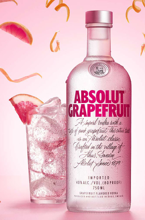 Absolut Grapefruit Flavored Vodka 1L
