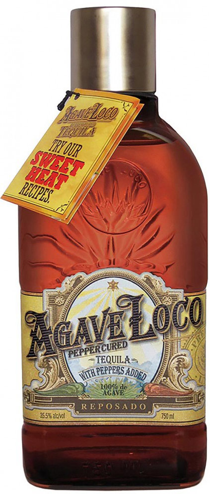 Agave Loco Pepper Cured Reposado Tequila