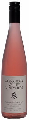 Alexander Valley Vineyards Dry Rose of Sangiovese 2018