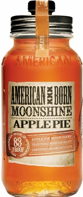 American Born Apple Pie Flavored Moonshine 750ML