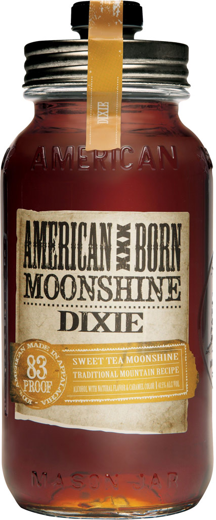American Born Dixie Sweet Tea Flavored Moonshine 750ML