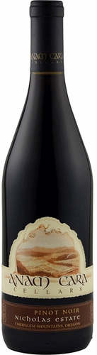 Anam Cara Nicholas Estate Pinot Noir Chehalem Mountains (case of 12) 2012