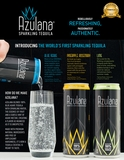 Azulana Sparkling Tequila Variety Pack (6:4 Pack 12 oz Cans)