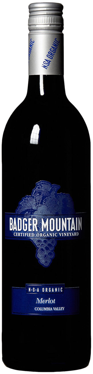 Badger Mountain NSA Merlot 750ML 2019