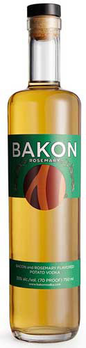 Bakon Rosemary Flavored Vodka