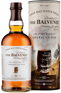 Balvenie The Sweet Toast of American Whiskey 12 Year Old Single Malt Scotch