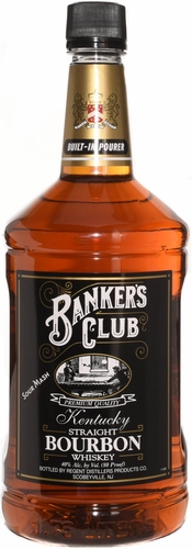 Banker's Club Straight Bourbon 1.75L