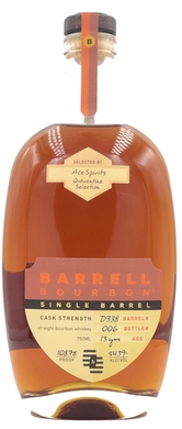 Barrell Bourbon Single Barrel Quarantine Selection 13 years Barrel D338