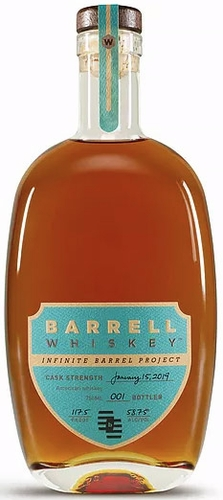 Barrell Infinite Barrel Project Whiskey January 15, 2019