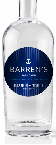 Barrens Navy Gin 750ML