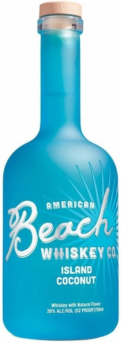 Beach Whiskey Island Coconut Flavored Whiskey 750ML