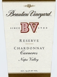 Beaulieu Vineyard BV Napa Valley Carneros Chardonnay Reserve 2014