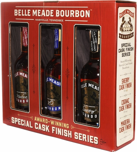 Belle Meade Cask Finish 375ml Gift Set