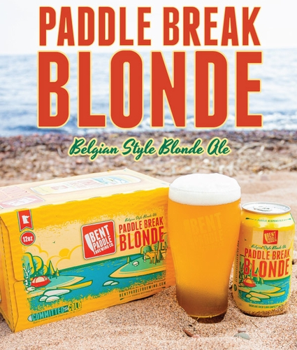 Bent Paddle Paddle Break Blonde Belgian Style Blonde Ale