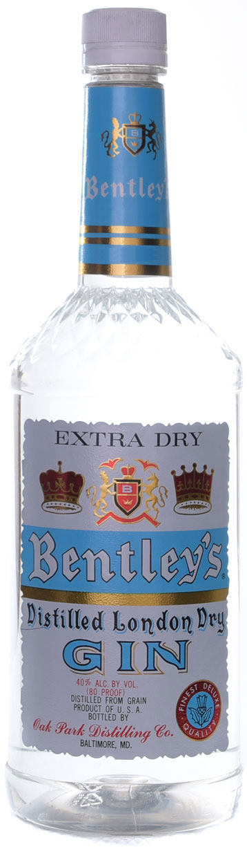 Bentleys London Dry Gin 1.75L