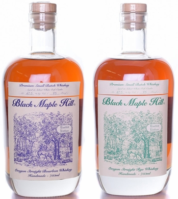 Black Maple Hill Oregon Whiskey 2 Pack