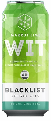 Blacklist Makrut Wheat Ale with Lime Leaves 4pk