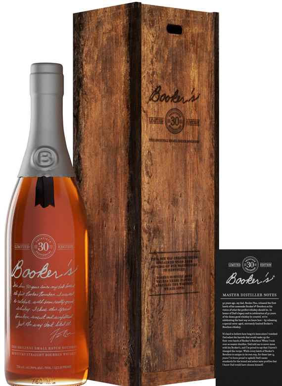 Bookers 30th Anniversary Limited Release Bourbon