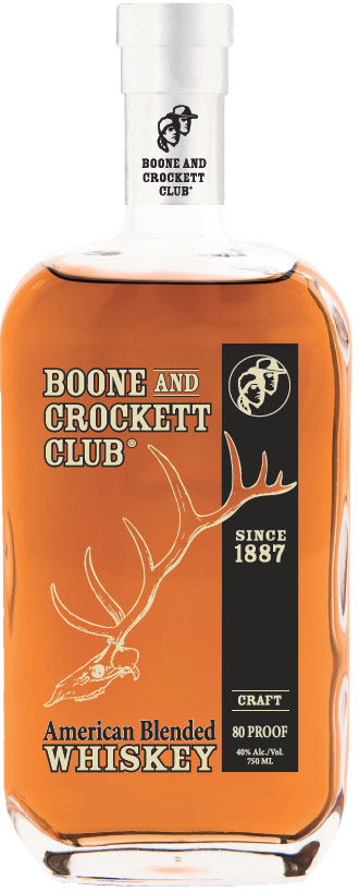 Boone and Crockett Club Blended American Whiskey