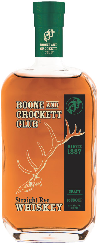 Boone and Crockett Club Straight Rye Whiskey 750ML