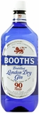 Booths Gin 90 Proof 1.75L (case of 6)