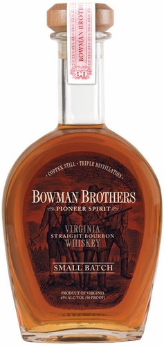 Bowman Brothers Pioneer Spirit Virginia Small Batch Bourbon Whiskey