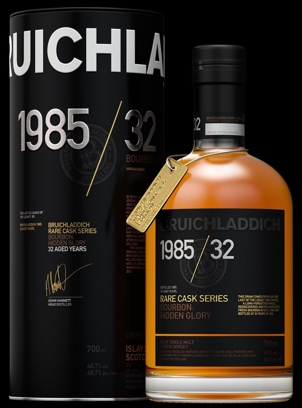 Bruichladdich Whisky Old And Rare 1985 750ML