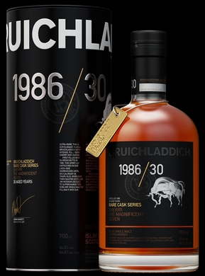 Bruichladdich Whisky Old And Rare 1986 750ML