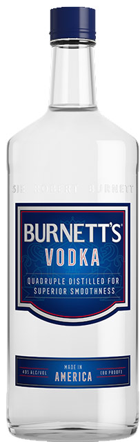 Burnetts Vodka 1L