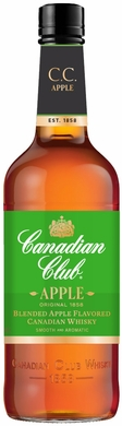 Canadian Club Apple Flavored Canadian Whisky 1L