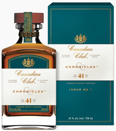 Canadian Club Chronicles 41 Year Old Canadian Whisky- LIMIT ONE 750ML