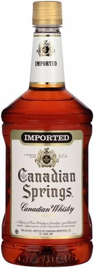 Canadian Springs Whisky 1.75L