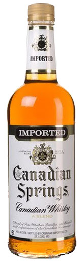Canadian Springs Whisky 1L