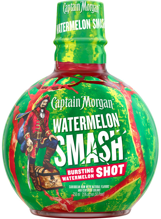 Captain Morgan Watermelon Smash Rum