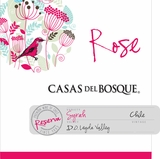 Casas del Bosque Rose of Syrah 2015