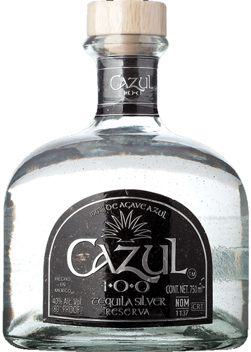 Cazul 100 Silver Tequila 375ML (case of 12)