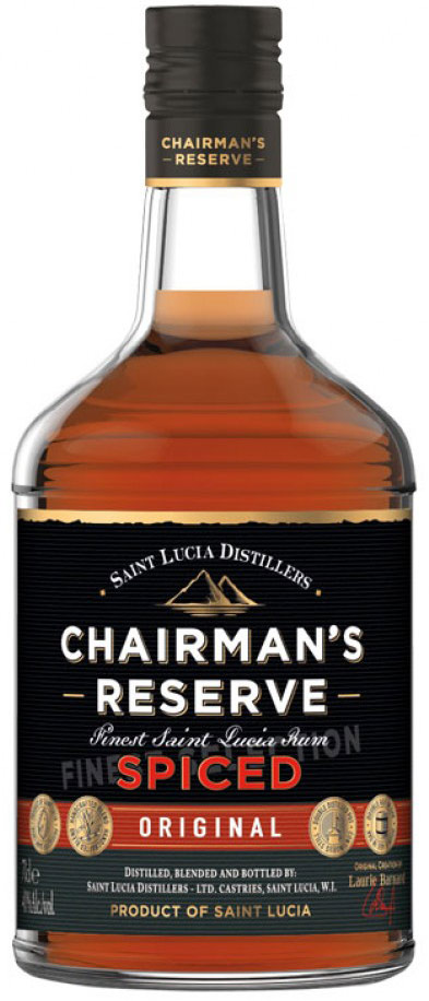 Chairmans Reserve Spiced St. Lucia Rum 750ML