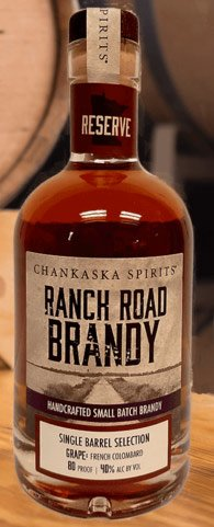 Chankaska Ranch Road Single Barrel Reserve Brandy