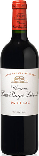 Chateau Haut Bages Liberal Pauillac (case of 12) 2015