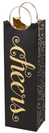 Cheers Gold Foil Gift Bag