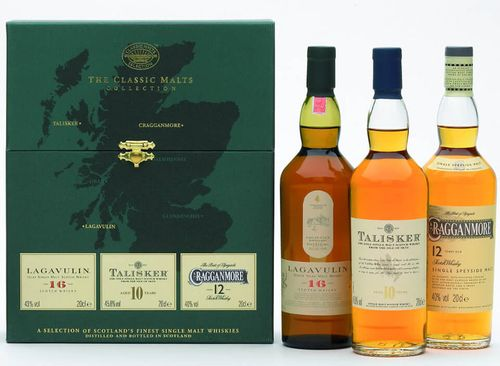 Classic Malts Strong Collection Single Malt Scotch Whisky Gift Set